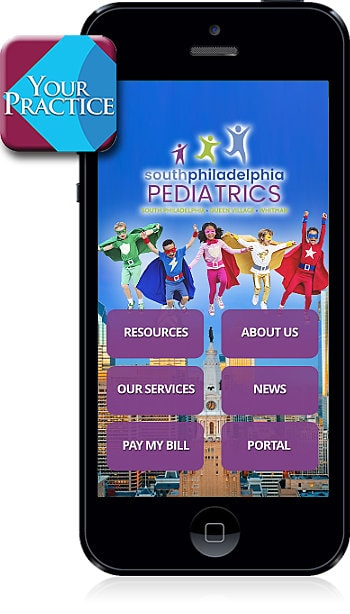 South Philadelphia Pediatrics Mobile App